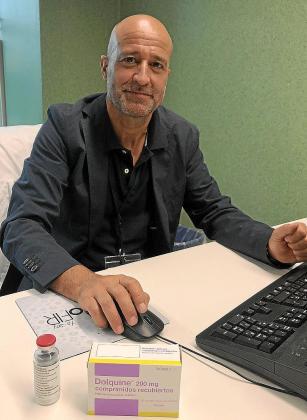 El doctor Pere Ventayol, jefe del servicio de Farmacia en Son Espases.