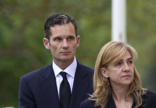 La infanta Cristina y su marido Iñaki Urdangarin, en una imagen de archivo.