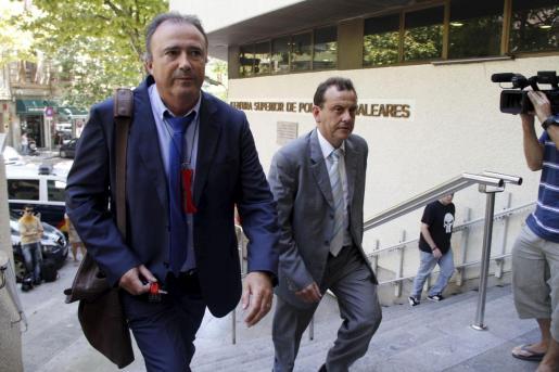Subirán entra en la Jefatura de Policía en 2011, con Pedro Horrach.