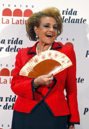 La actriz española durante un evento pasado.