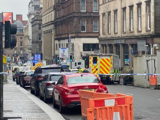 La Policía de Glasgow ha considerado «contenida» la situación y ha asegurado en Twitter que «no hay peligro».