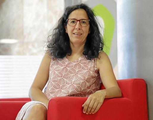 La dirigente de Càritas, Catalina Mateu en el transcurso de la entrevista que concedió a nuestro diario.