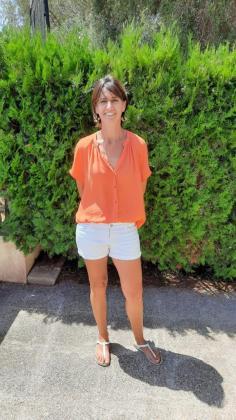 Paula M. Amengual trabaja en el museo de Son Fornés de Montuïri.