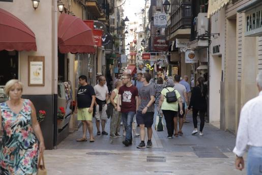 Imagen de archivo del centro de Palma.