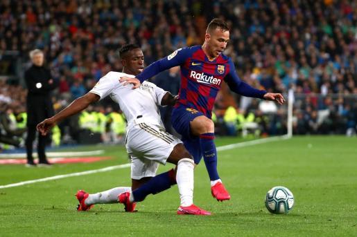 La apuesta del Barcelona, como reflejaba su contrato, era de futuro, algo que agradó al propio Xavi Hernández, que reconocía el valor de Arthur y le veía como un jugador «muy, muy válido» para el futuro del equipo.