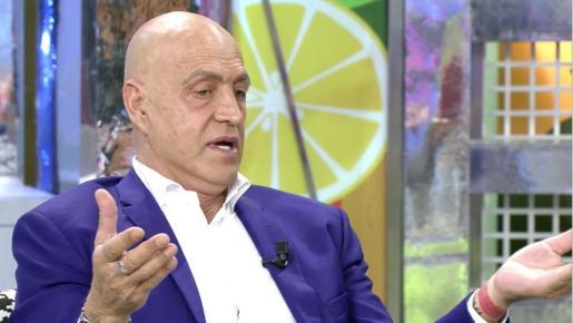 Kiko Matamoros, durante un programa de 'Sálvame'.
