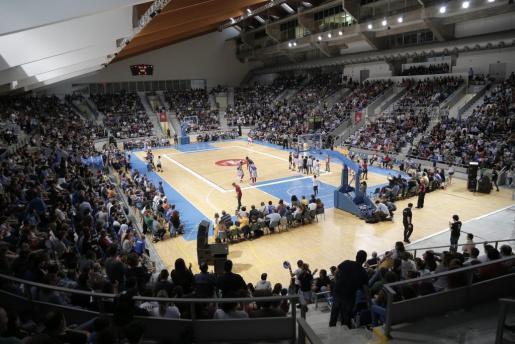 Imagen del Palau d'Esports de Son Moix.