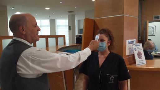 En los hoteles de la isla se siguen estrictamente las medidas sanitarias.