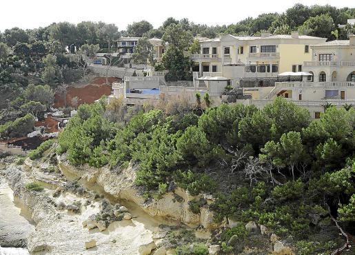 Vista general de la mansión de Petrov, en Sol de Mallorca.