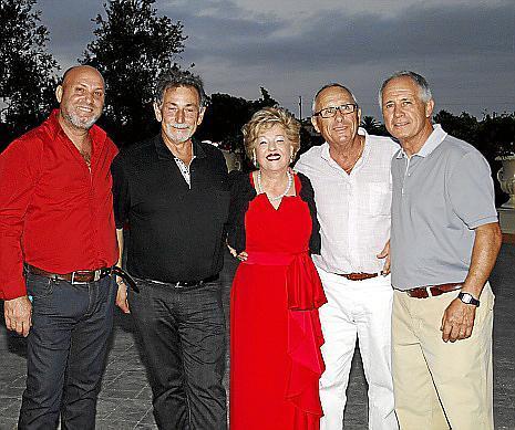 Antonio Pazo, Rafael Torrens, Catalina Bordoy, Pep Martínez y Arnau Pou.