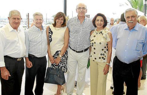 Joan Albertí, Manuel Fernández-Roca, Charo Sanz, Tòfol Sbert, Sole Haro y Pere A. Serra.