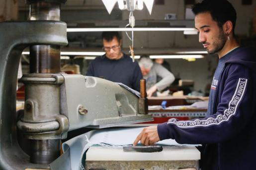 La industria del calzado es una de las más importantes de Baleares.