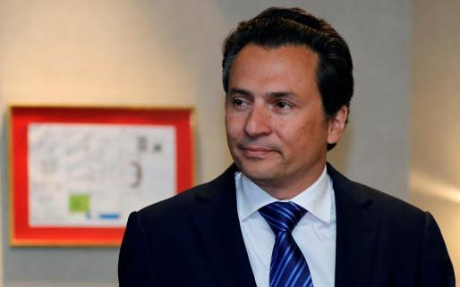 El exdirector de Pemex Emilio Lozoya.