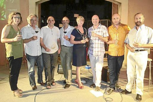 Joana Majoral, Miquel Lendines, Andreu Oliver Pril, Andreu Oliver, Toñi Sánchez, Alexandre Mulet, Mateu Mulet y Llorenç Payeras.