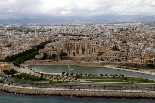 Vista aérea de Palma.