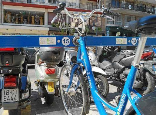 Bicipalma, el servicio de bici pública de Ciutat, ha aumentado un 45 % desde 2011; al igual que el uso de la bici privada.
