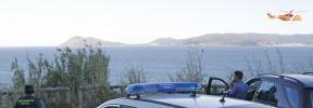 Medios aéreos, terrestres y buzos buscan a dos kayakistas desaparecidos en A Coruña