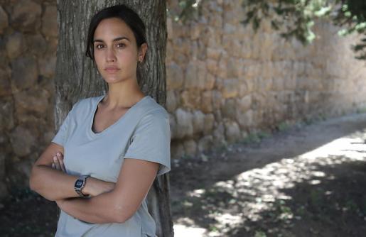 Megan Montaner es Sara Campos en esta ficción.