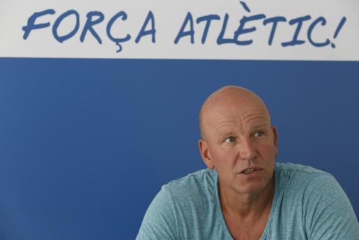 El presidente y propietario del Atlético Baleares, Ingo Volckmann, en una imagen de archivo.