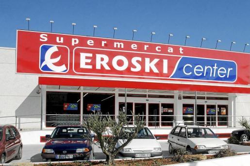 Imagen de uno de los establecimientos de Eroski.