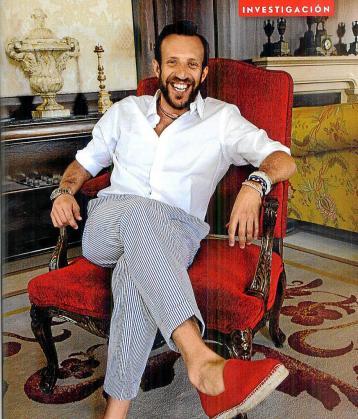 Jacinto Rosselló, en la revista Vanity Fair.