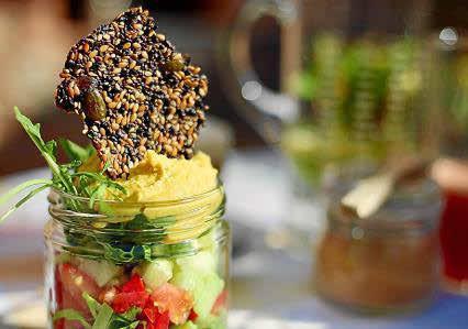 Una alternativa al pan muy fácil de preparar y que sirve como complemento de ensaladas, quesos o hummus