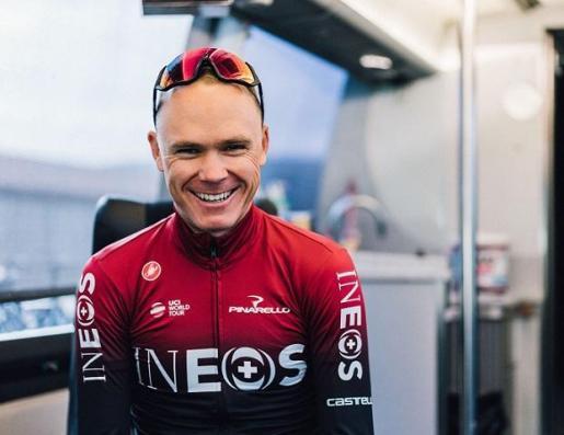 El ciclista británico del Team INEOS, Chris Froome.