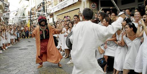 El próximo 2 de agosto no se repetirá el encuentro entre Joan Mas y el corsario Dragut en Pollença.