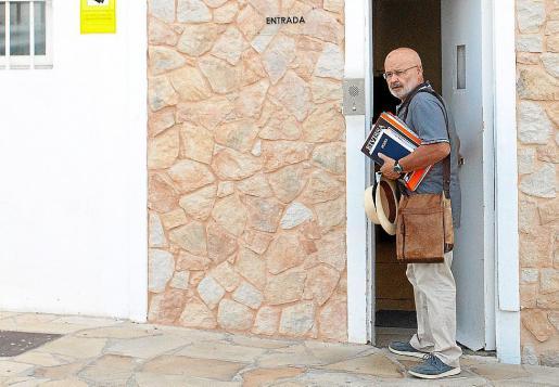 José Juan Cardona, a su salida de la prisión de Ibiza.