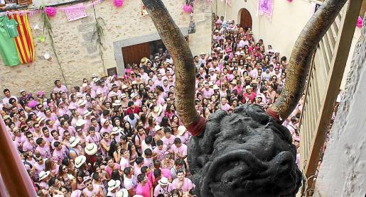 El próximo 10 de agosto no se producirá la aglomeración de camisetas rosas en Sineu.