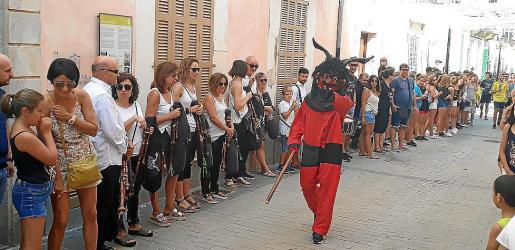 La salida del Dimoni, uno de los actos más esperados, no se celebrará este año.