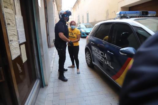Daniela Cardona, la mujer que mató a su marido Óscar Armando el pasado jueves en Manacor, ha pasado a disposición judicial este sábado por la mañana.