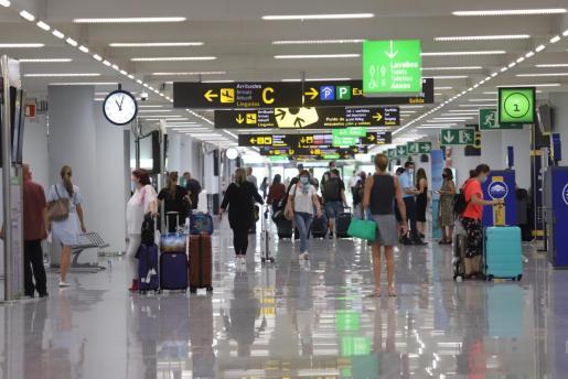 El aeropuerto de Palma, en una reciente imagen.