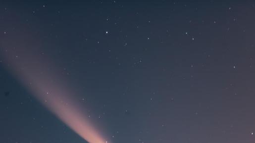 El cometa Neowise está dentro de la categoría de los que se denominan «grandes», por lo que se puede ver a simple vista.