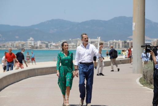 El pasado día 6 de julio fue la última vez que los Reyes pisaron Mallorca, con motivo de su gira por toda España.