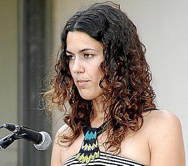 Magdalena Buades fue la encargada de hablar por todos los graduados.