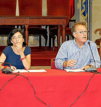 Margalida Ferrando y Antoni Mesquida