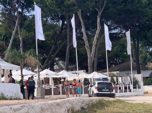 La Guardia Civil visita el club que registró aglomeraciones el pasado fin de semana