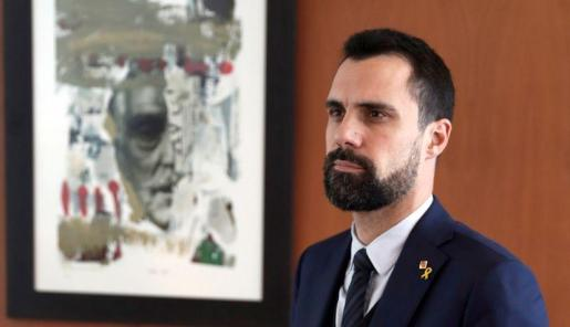 Roger Torrent, presidente del Parlament catalán.