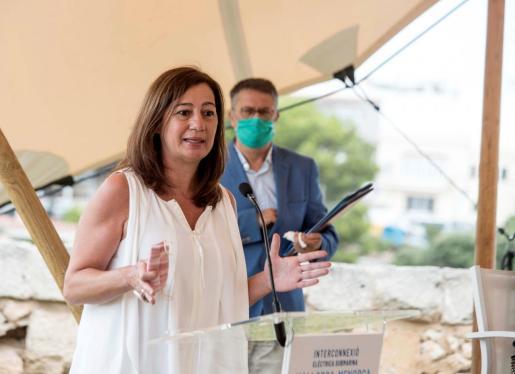 La presidenta Govern Balear, Francina Armengol.