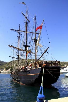 Imagen del barco de época utilizado en el rodaje de 'Cloud Atlas'.