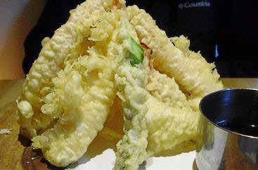La tempura 10 fue pura magia culinaria.