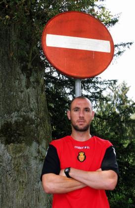 Iván Ramis, durante la concentración del equipo en Holanda.