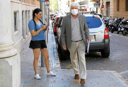 En la imagen, Sbert, en una comparecencia judicial hace dos semanas.