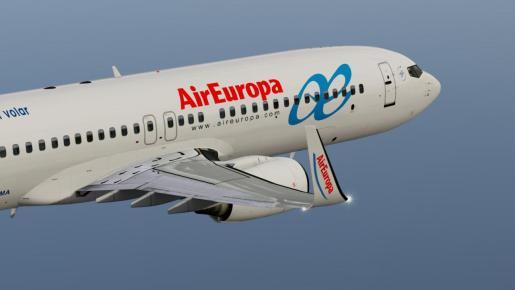 Air Europa ha reiniciado este miércoles sus rutas europeas, con vuelos a 15 destinos, así como parte de sus rutas peninsulares.