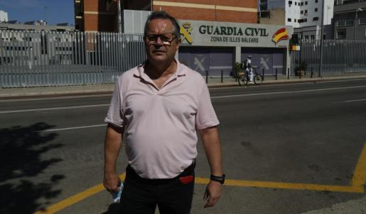 Fermín Aragón, vigilante de Trablisa de 56 años, fue brutalmente agredido por una pareja.
