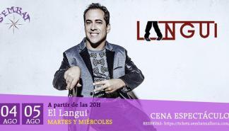 Actuación de El Langui en s'Embat