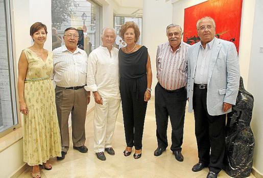 María José Frau, Paco Frau, Palomo Linares, Juanita Pons, Pere A. Serra y Gabriel Vanrell.