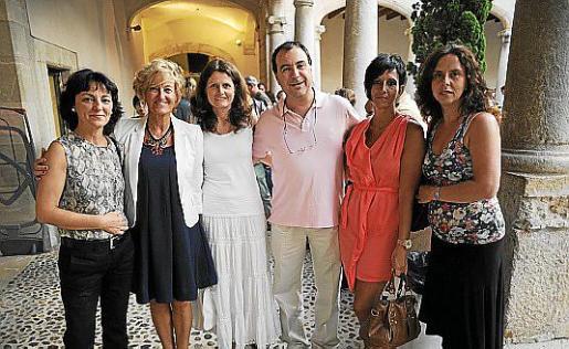 Ana Valls, Malen Cantarellas, Maria Torres, Jaume Cañellas, Clara Casado y Catalina Amengual.