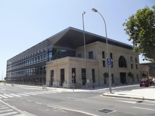 Vista de la sede de la sede de la Autoritat Portuària.